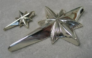Epiphany Star Crosses Side View