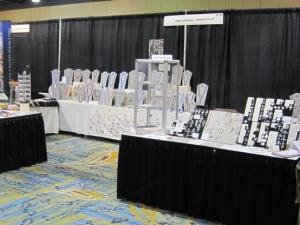 Nancy Denmark's Booth at a Show