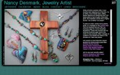 Nancy Denmark Jewelry Artist Website