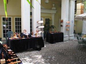 Margaret Bailey's beautiful wood display