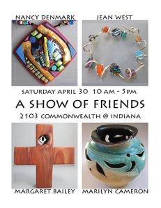 Art Show of Jean West, Nancy Denmark, Margaret Bailey, Marilyn Cameron
