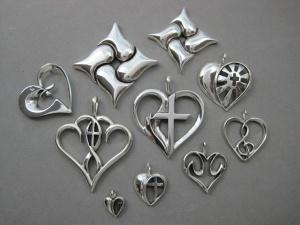 Symbolic Heart Jewelry Designs